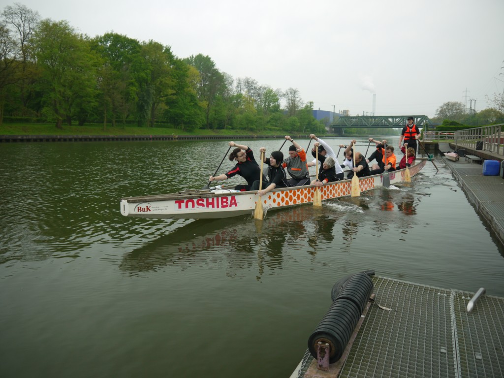 Video vom Drachenboottraining T.N.T vom 29.04.2012